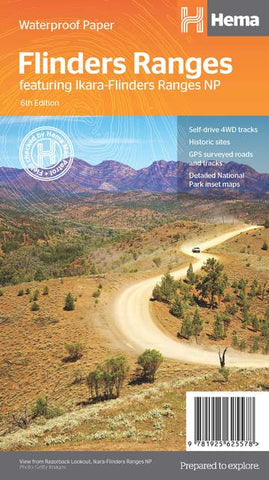 Flinders Ranges Map
