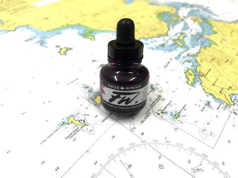 FW Magenta Drawing Ink - FW