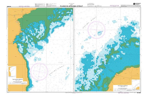 NZ 8645 - Plans In Apolima Strait