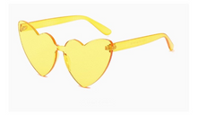 Load image into Gallery viewer, All I see is LOVE Heart Shape Sunglasses