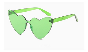 All I see is LOVE Heart Shape Sunglasses