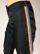 Load image into Gallery viewer, Y2k Limited Too Rainbow Side Stripe Nylon Track Pants