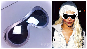 Chanel Sunglasses as seen on Lil Kim at the Soho Grand Opening 2000