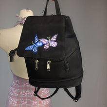 Load image into Gallery viewer, Vintage 90's / Y2K Embroidered Butterfly Mini Backpack