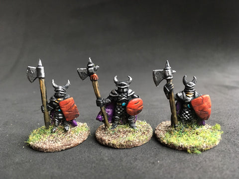 Dark Alliance Halberdiers