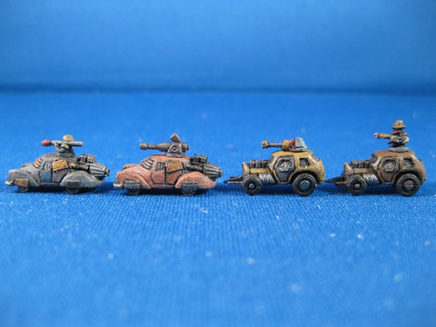 Wasteland Hot Rods and Cars