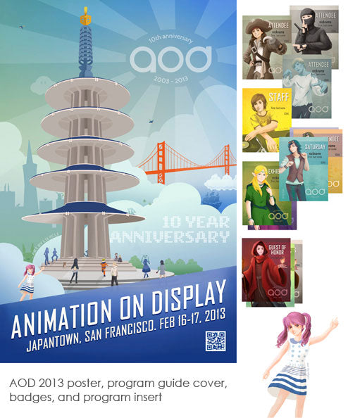 Animation on Display Promotional Materials