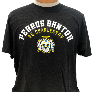 Charleston RiverDogs Perros Santos '47 Brand Black Tee