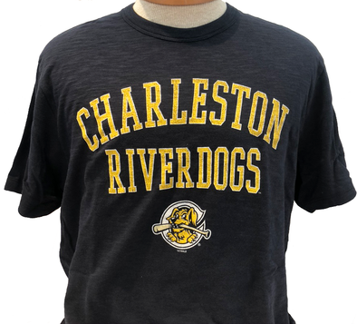 "Charleston RiverDogs '47 Brand Navy ""Scrum"" Tee"