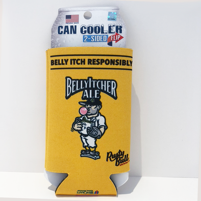 Charleston RiverDogs BellyItcher Ale 16oz Can Koozie