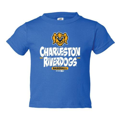 Charleston RiverDogs Infant BP Tee Blue