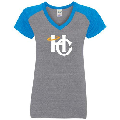 Charleston RiverDogs Women's Holy City V-Neck Tee