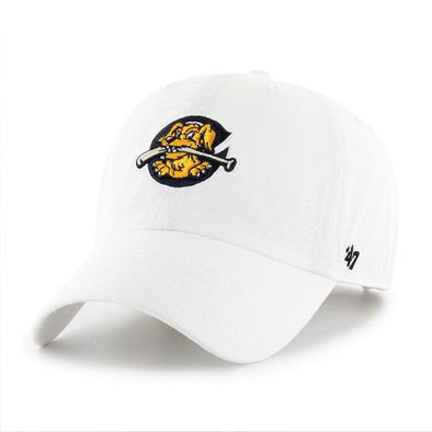 Charleston RiverDogs Clean Up White Cap
