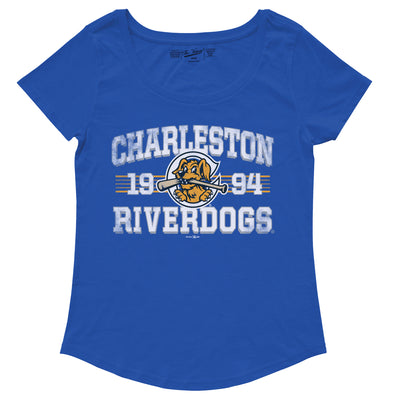 Charleston RiverDogs Women's Scoop Neck Tee