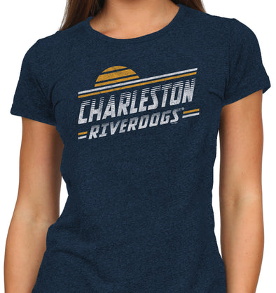 Charleston RiverDogs Women's Vintage Tee