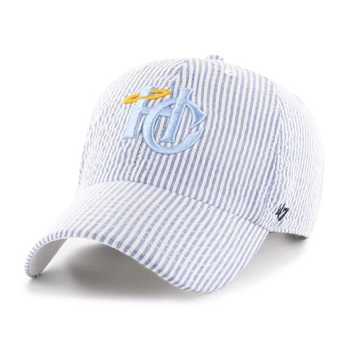 Charleston RiverDogs Youth Holy City Seersucker Blue Cap