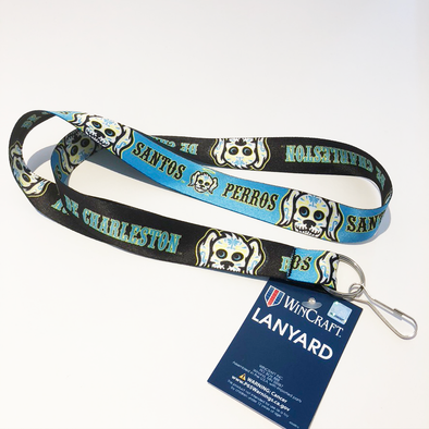 Charleston RiverDogs Perros Santos Lanyard