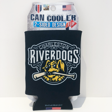 Charleston RiverDogs 12oz Can Koozie