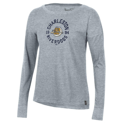 Charleston RiverDogs Under Armour Women's Long Sleeve Tee