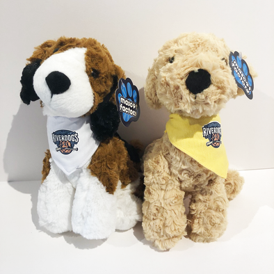 Charleston RiverDogs Plush Bandana Dogs