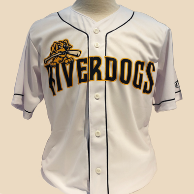Charleston RiverDogs 2020 Authentic On-Field Home Jersey