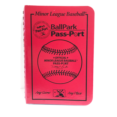 Charleston RiverDogs MiLB Passport Book