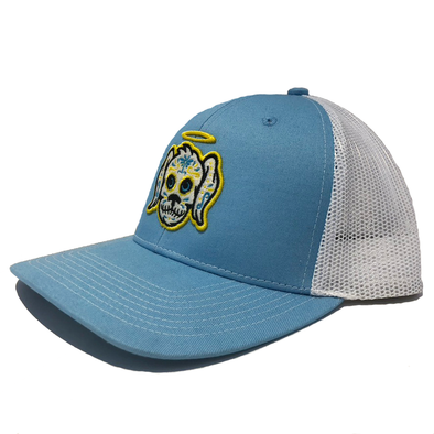 Charleston RiverDogs Perros Santos Light Blue Snapback Cap