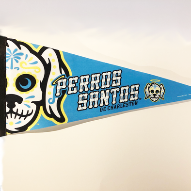 Charleston RiverDogs Perros Santos Pennant
