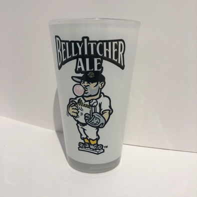 Charleston RiverDogs BellyItcher Pint Glass