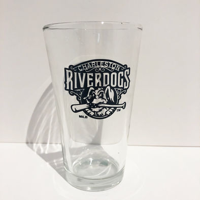 Charleston RiverDogs Pint Glass