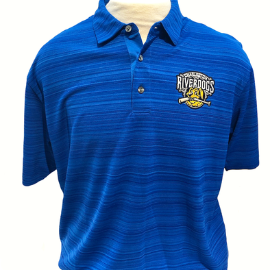 Charleston RiverDogs Primary Logo Blue Polo