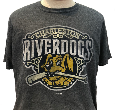 Charleston RiverDogs Primary Logo Tee