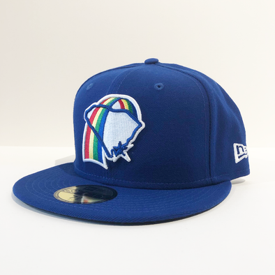 Charleston RiverDogs Rainbows 59Fifty