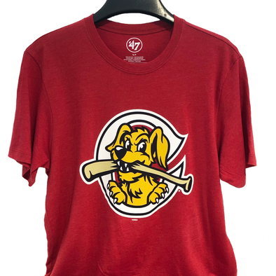 Charleston RiverDogs Home Cap Logo Tee