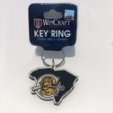 Charleston RiverDogs South Carolina Key Ring