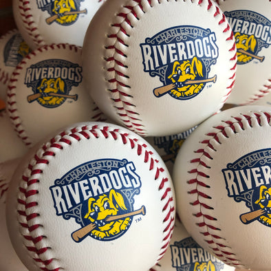 Charleston RiverDogs Souvenir Baseball - White