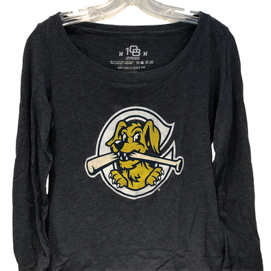 "Charleston RiverDogs Women's Long Sleeve ""Razorback"" Tee"
