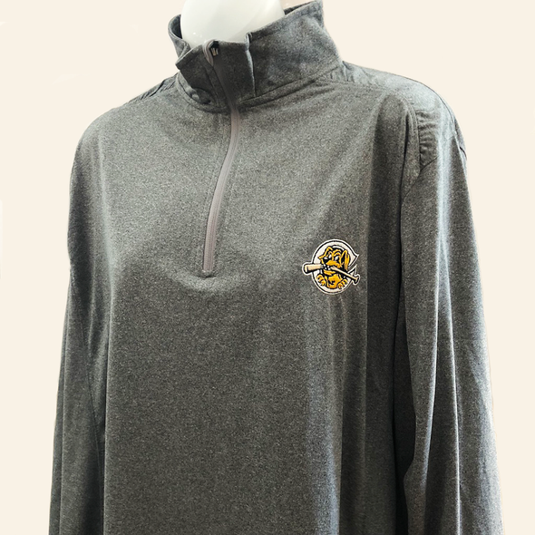 Charleston RiverDogs Women's Gray 1/4 Zip