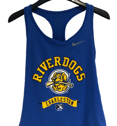 Charleston RiverDogs Women's Athletic Tank Top