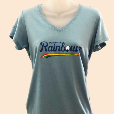 Charleston RiverDogs Charleston Rainbows Women's V-Neck