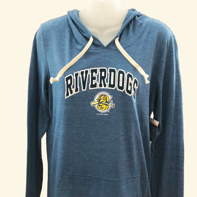 Charleston RiverDogs Women's New Era T-Shirt Hoodie