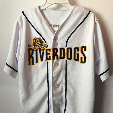 Charleston RiverDogs Youth Replica Jersey