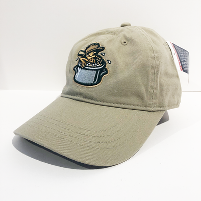 Charleston RiverDogs Youth Boiled Peanuts Khaki Cap