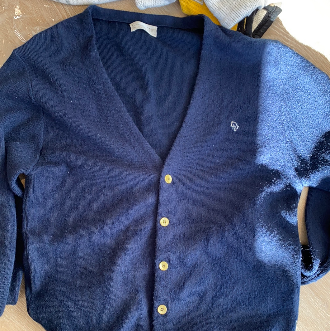 Vintage Christain Dior cardigan
