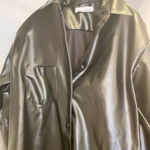 KT leather shirt