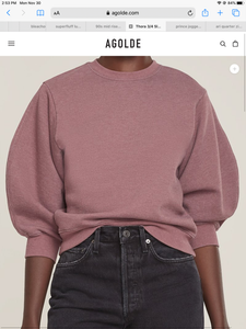 Agolde crewneck sweater