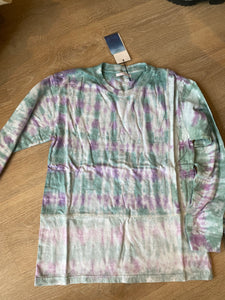 John Elliott long sleeve tie dye tee