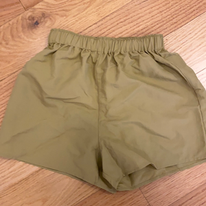 KT T-shirt nylon long shorts drawstring