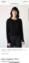 Load image into Gallery viewer, Stateside long sleeve boxy tee