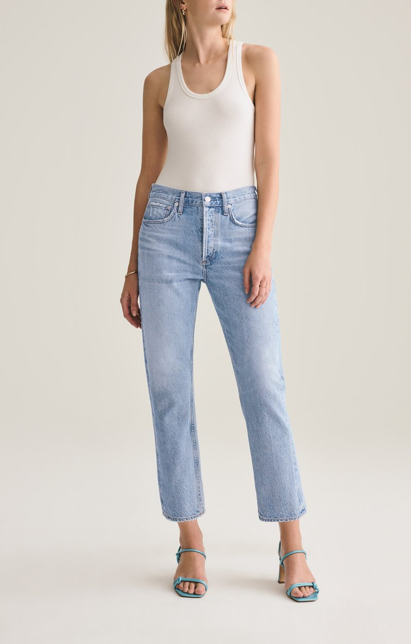 Agolde parker easy straight jean